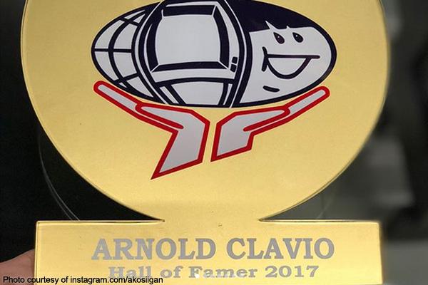 Arnold Clavio, isa nang 'Hall of Famer'