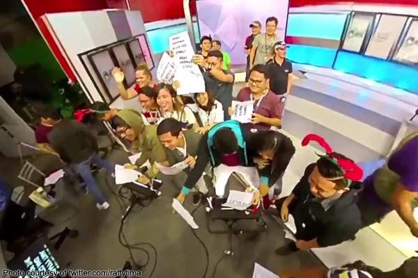 Kapuso reporters, todo-pasalamat sa mga tao sa likod ng camera
