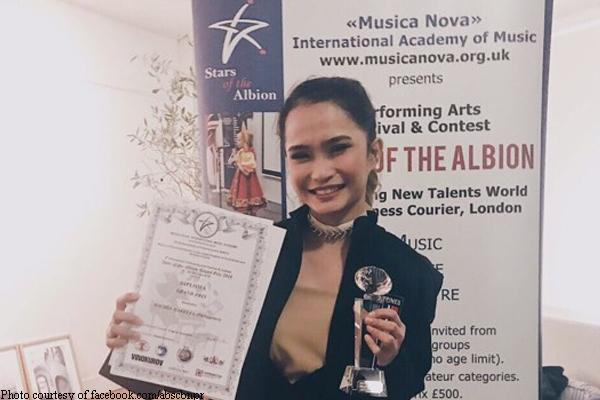 'Tawag ng Tanghalan' singer Rachel Gabreza, nanalo sa London