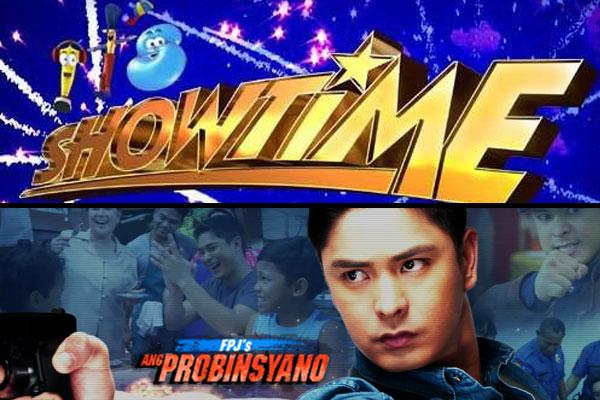 FPJ's Ang Probinsyano, It's Showtime namayagpag sa ratings