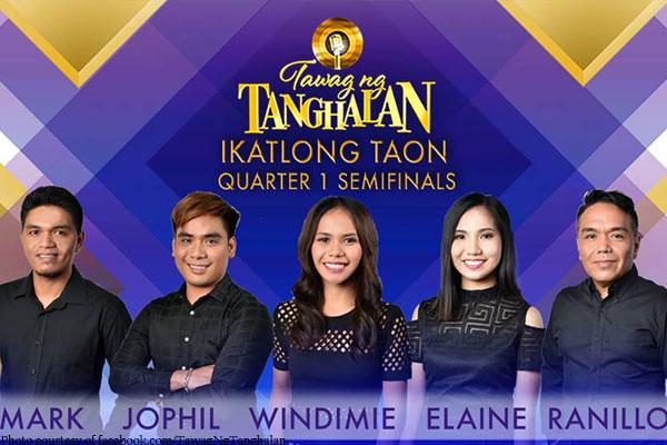 Limang semifinalists pangmalakasan ang bakbakan sa 'Tawag Ng Tanghalan'