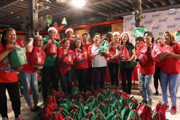GMA Network lets love overflow in Christmas Station ID