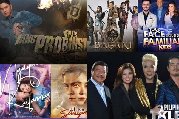 ABS-CBN nanguna  sa buong taon ng 2018