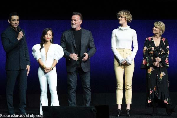 We'll be back: Hamilton, Schwarzenegger tease new 'Terminator'