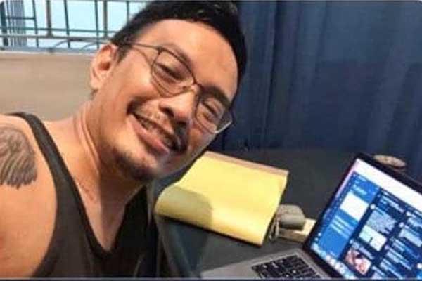 Joseph Morong, trending sa nagbabagang pampagising bago ang press briefing
