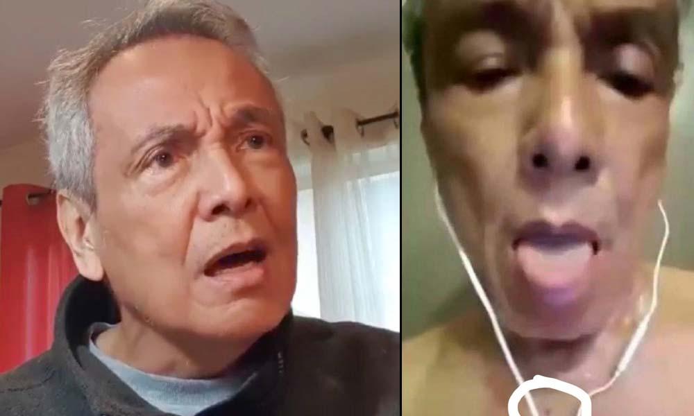 Panoorin: Jim Paredes nagdididila nang live sa DZRH TV?