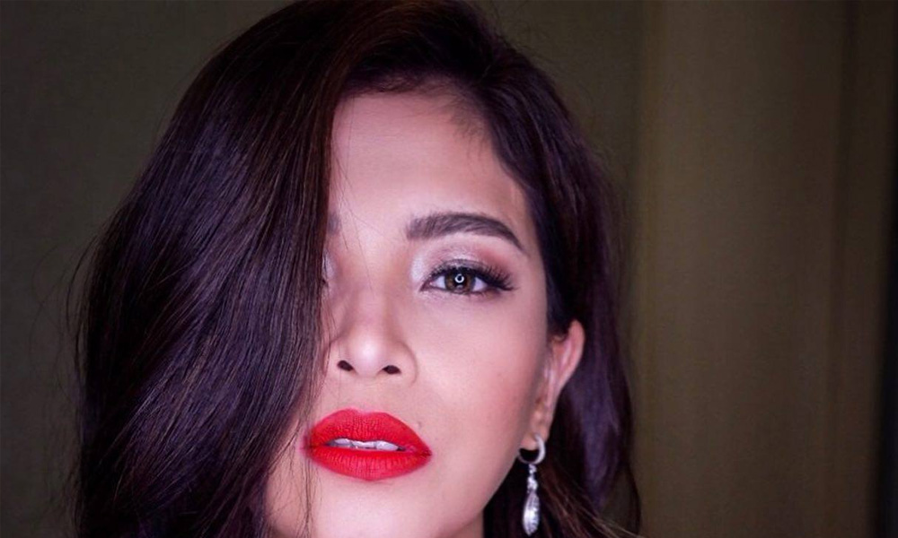 Angel Locsin at iba pang artista – No to red-tagging pero Yes to red lipstick