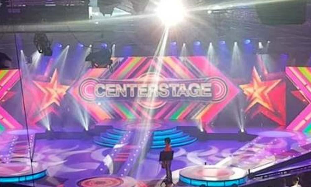 Virtual set ng Centerstage hinangaan