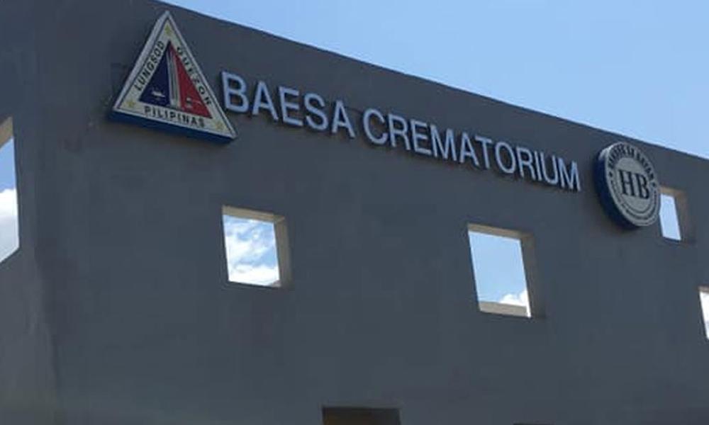 Pila-pila na sa Pasay crematorium