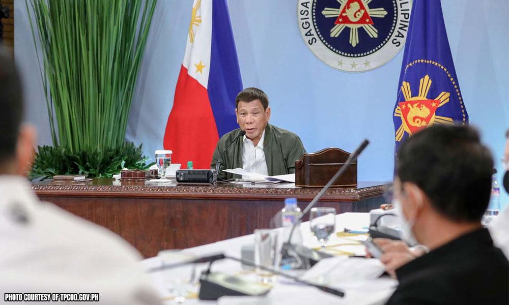 Turistang namemeke arestuhin — Duterte