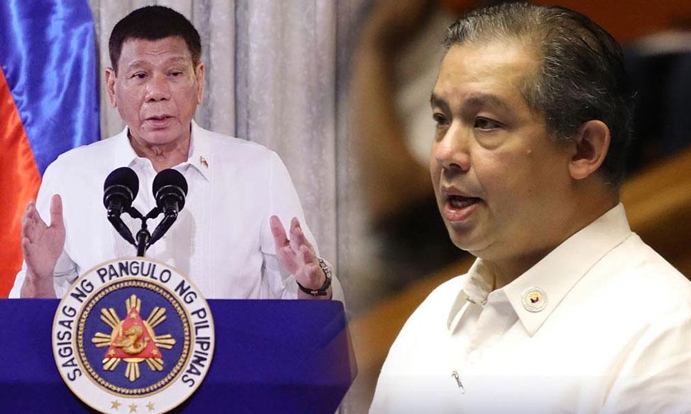 Leyte cong pinangakuan! Duterte 'di tatakbong VP