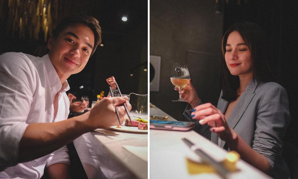 Hindi umiiwas sa mga Pinoy kahit kasama si Dominic…Bea very nice sa mga nagpapa-picture