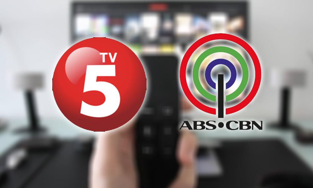 TV5 bumongga dahil sa ABS-CBN