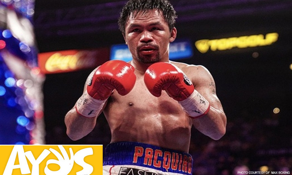Pacquiao champion for life