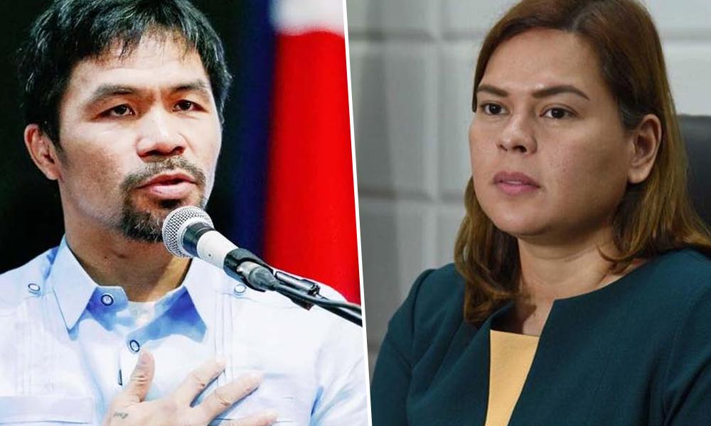 Ayaw mag-senador ulit! Pacman gigil makalaban si Inday Sara