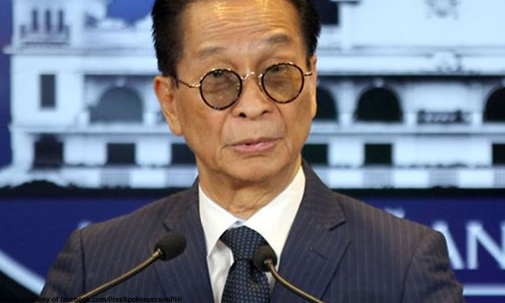 Gordon guilty sa inciting to sedition – Panelo