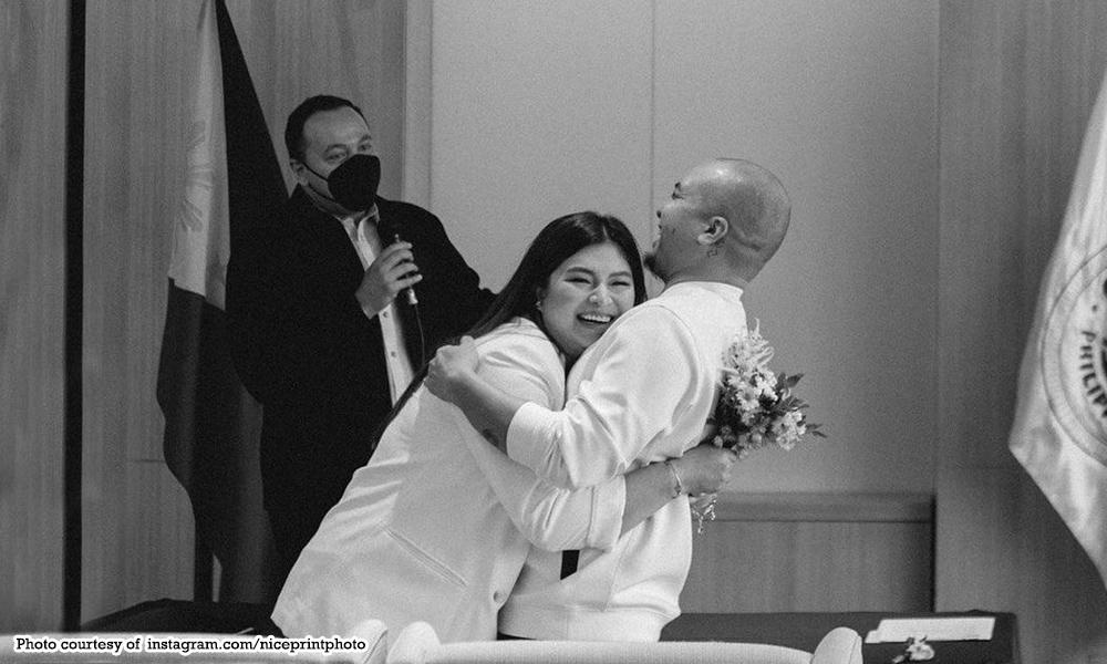 Kahit may simple wedding na: Angel, Neil may bonggang kasal pa!