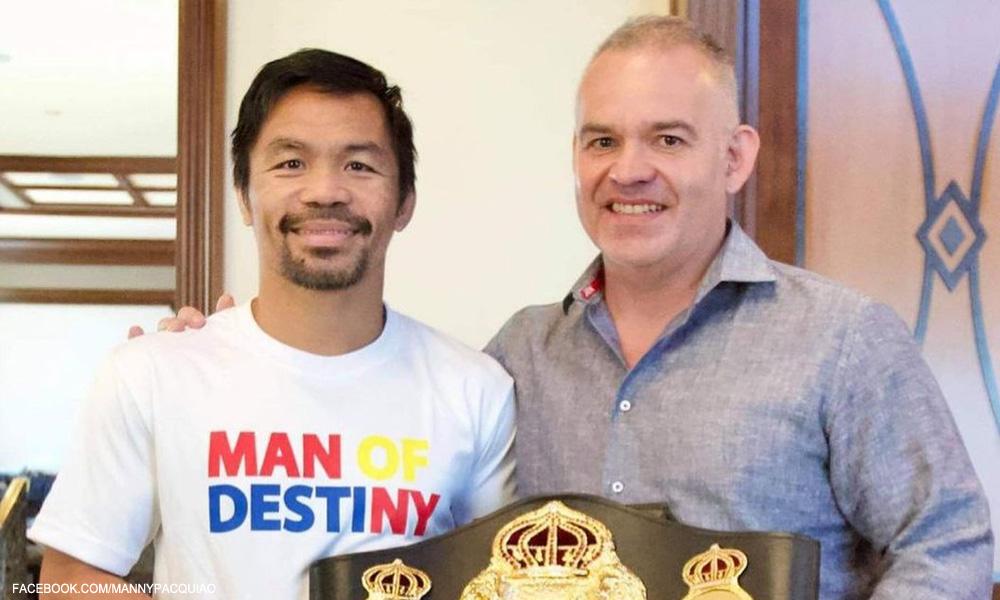 Champion for Life! WBA nag-sorry kay Pacquiao, bibigyan ng special belt