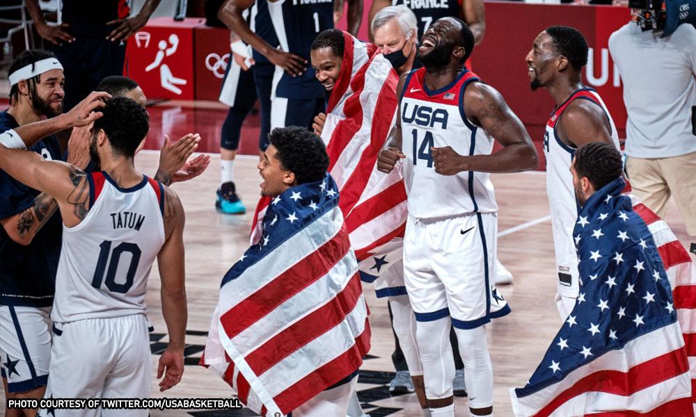 Lusot sa France: 4th straight Olympic gold tinuhog ng USA!