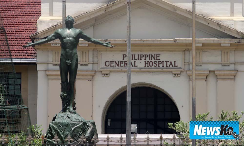 PGH nabawasan mga pasyenteng may COVID