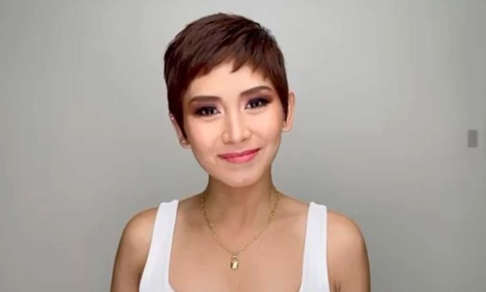 Dahil sa pixie hairstyle: Sarah kahawig daw ng isang beauty doctor