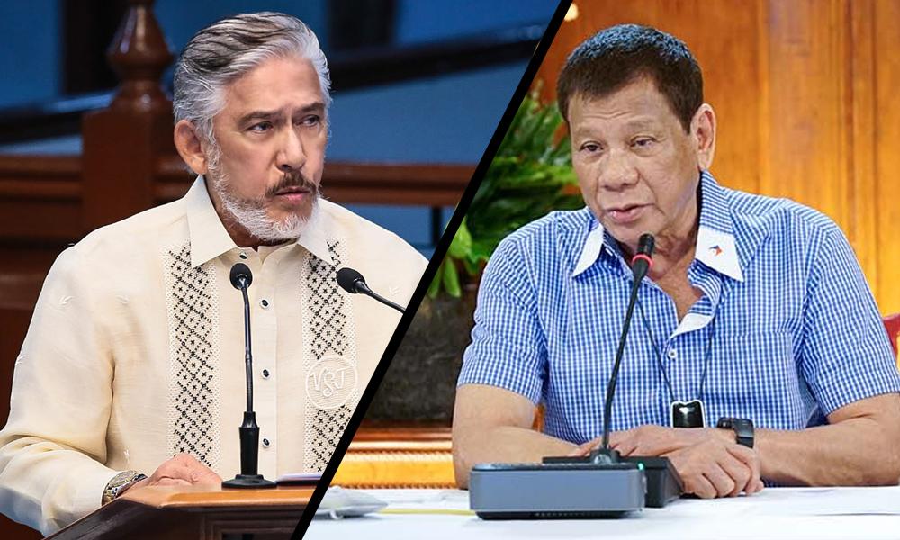 """Digong vs Tito sa 2022! """"At least hindi na tayo nanghuhula"""" – Sotto"""