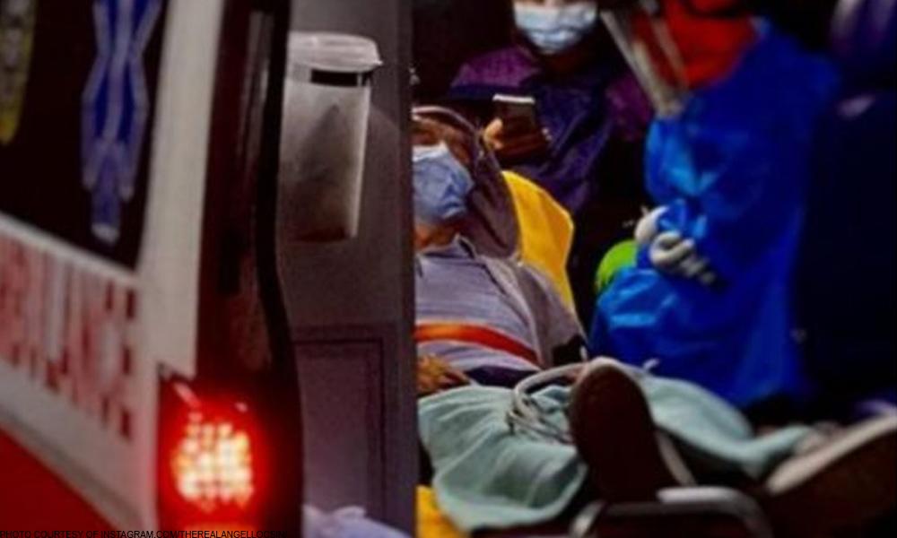 94-anyos na-COVID: Tatay ni Angel sinundo ng ambulansya