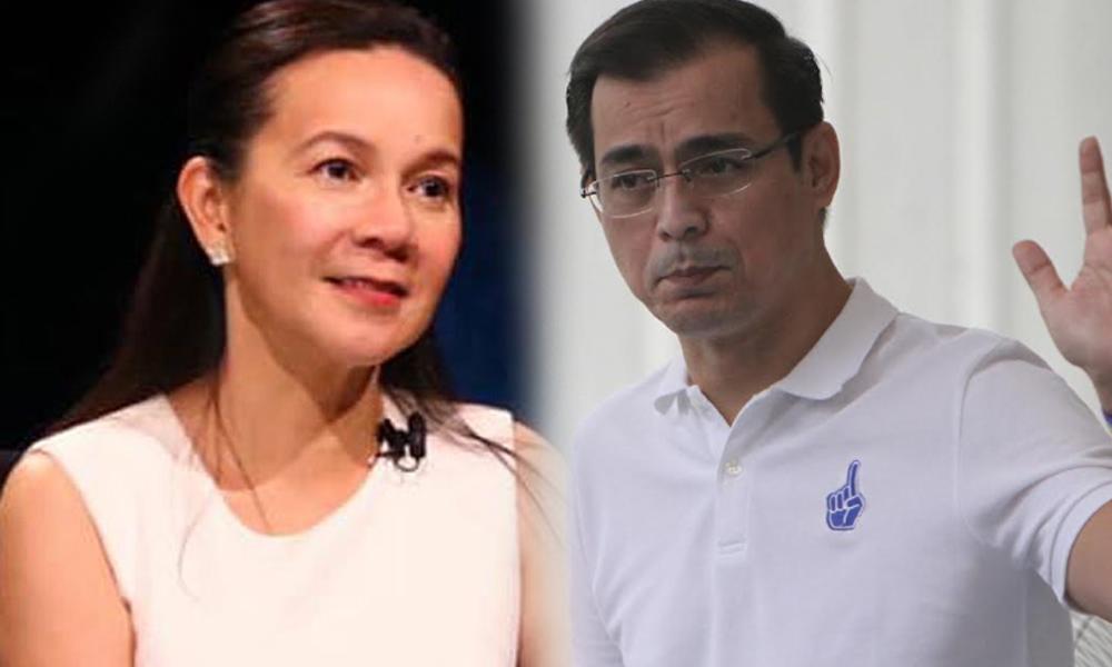 Moreno unang type sa VP si Grace Poe