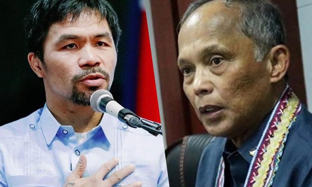 Cusi ambisyon maging 'little president' – Pacquiao