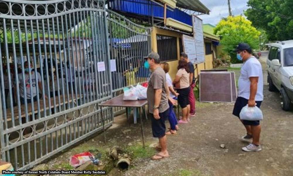 Buong konseho ng barangay naka-quarantine