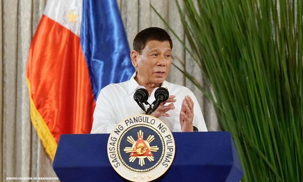 Duterte binebeybi kurakot sa gobyerno