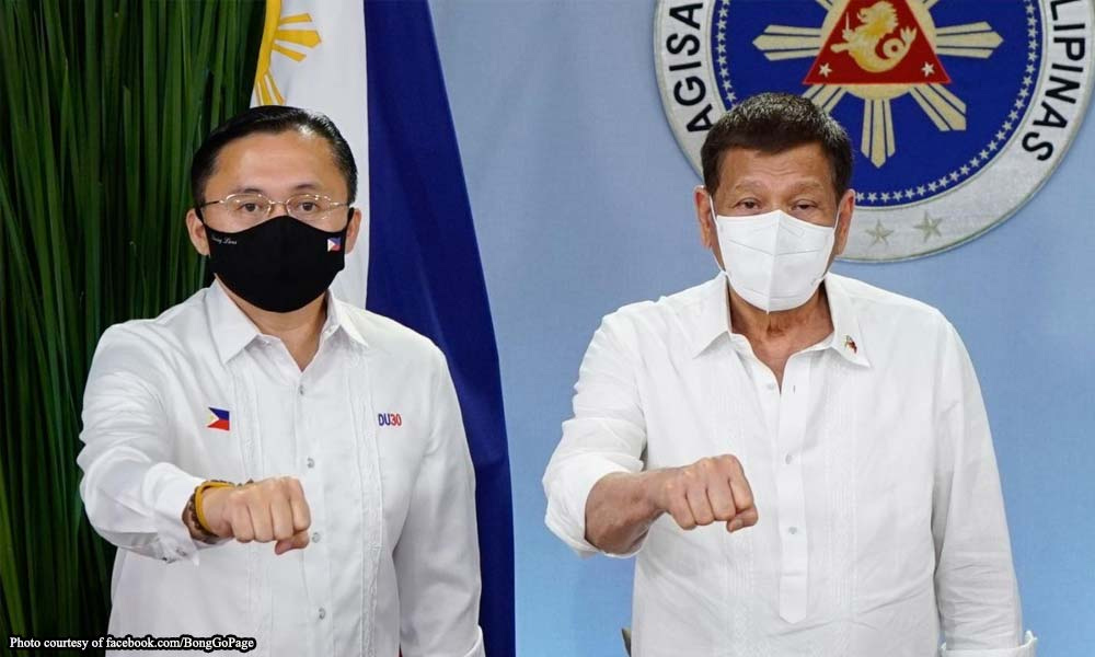 Go-Duterte tandem prinoklama ng PDP-Laban Cusi wing