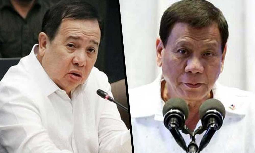 """Ikakampanyang matalo sa 2022: """"Gordon forever nang walang kredibilidad"""" – Duterte"""