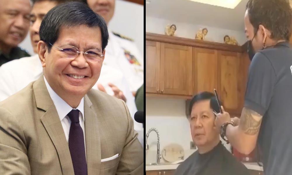 Barbero ni Lacson sumagot kay Duterte: Walang bago sa hairstyle niya!