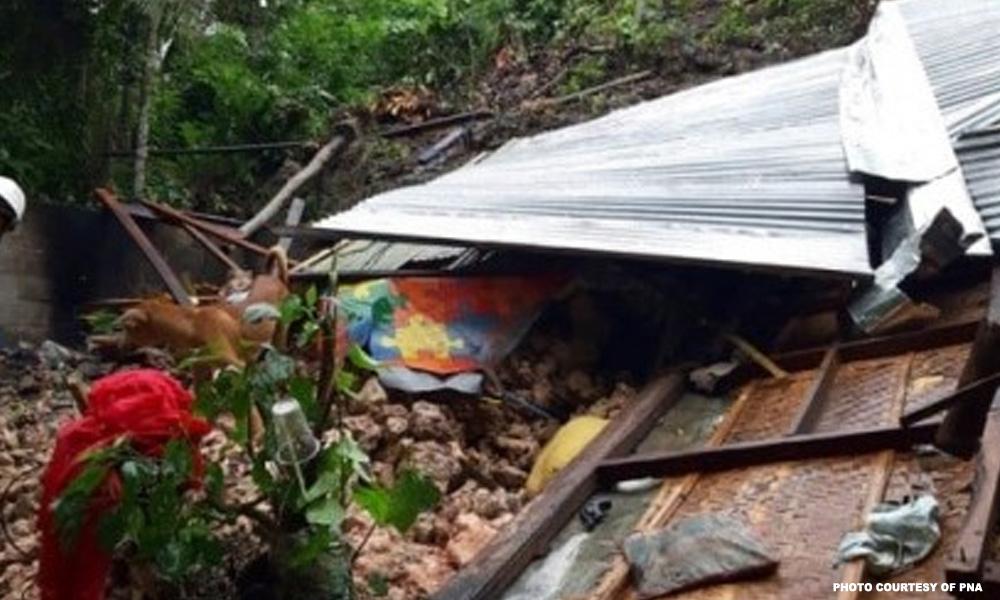 51 barangay sa Guimaras inilikas dahil sa rock slide
